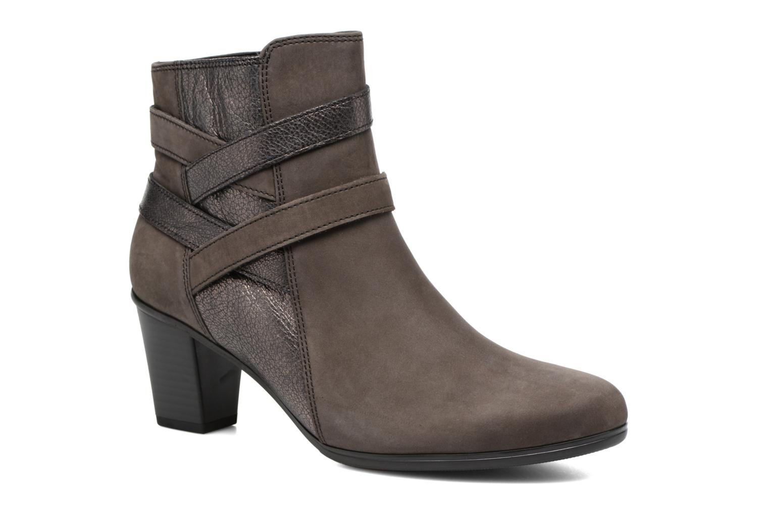 Ankle boots Gabor Finja Grey detailed view/ Pair view