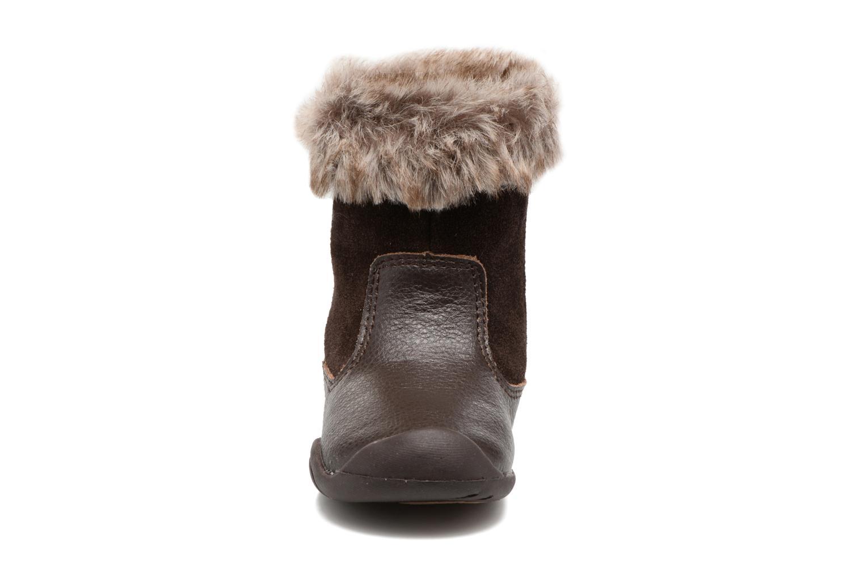 Stivali Pediped Mia Marrone modello indossato