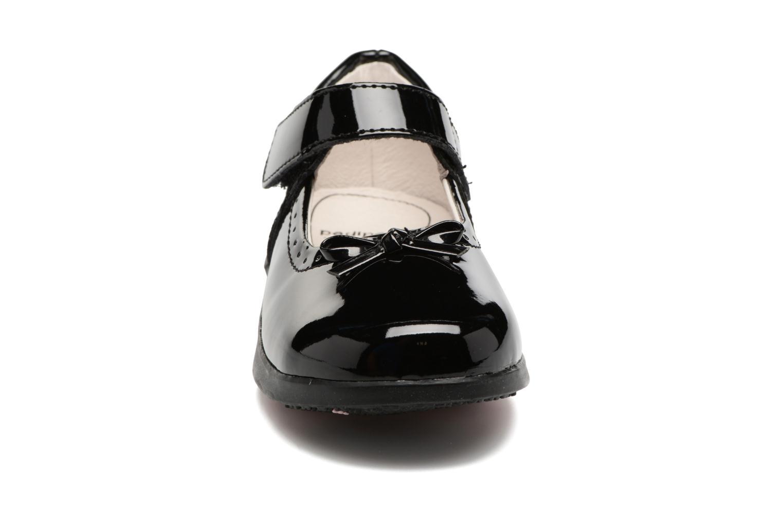 Ballerines Pediped Isabella Noir vue portées chaussures
