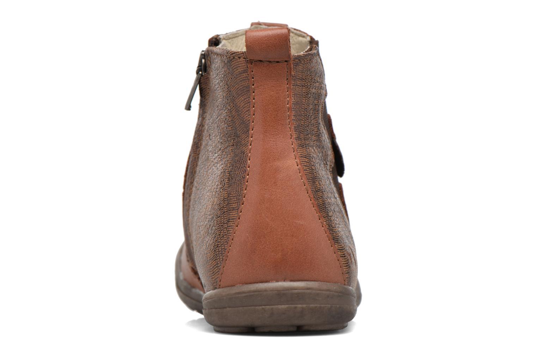 Bottines et boots Noël Eline Marron vue droite