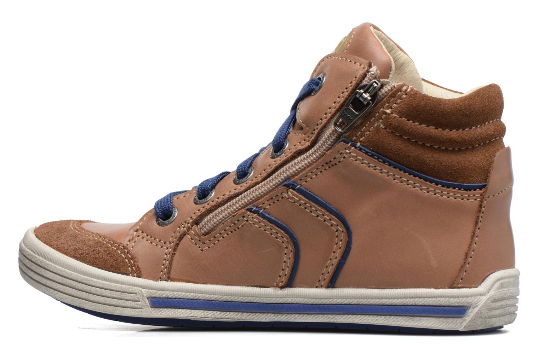 Sneakers Noël Ruben Marrone immagine frontale