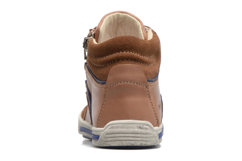 Sneakers Noël Ruben Marrone immagine destra
