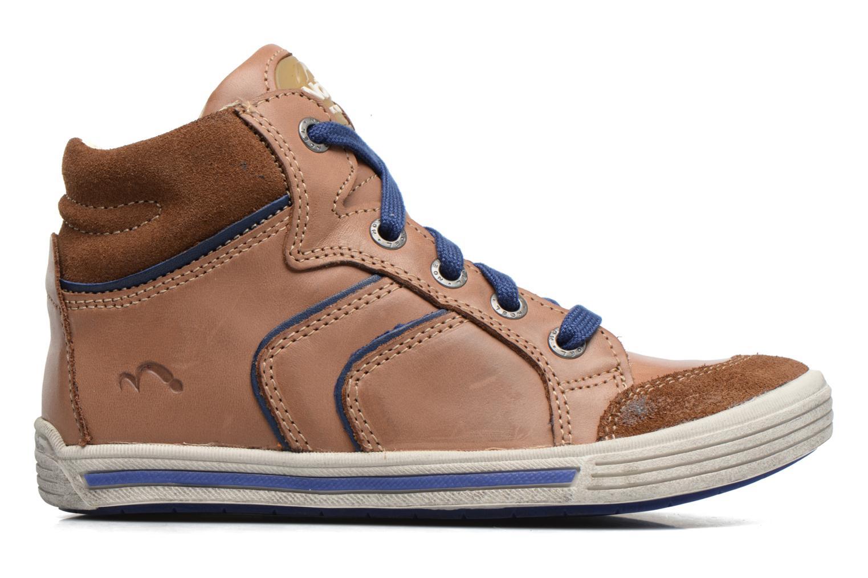 Sneakers Noël Ruben Marrone immagine posteriore