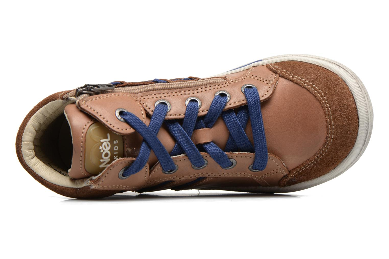 Sneakers Noël Ruben Marrone immagine sinistra