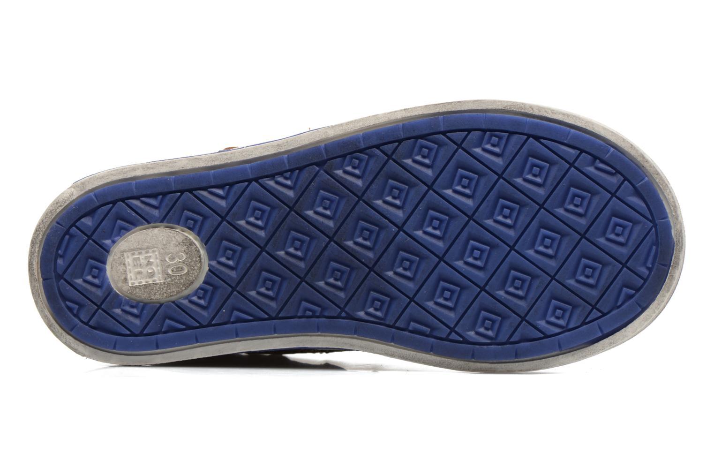 Sneakers Noël Ruben Marrone immagine dall'alto