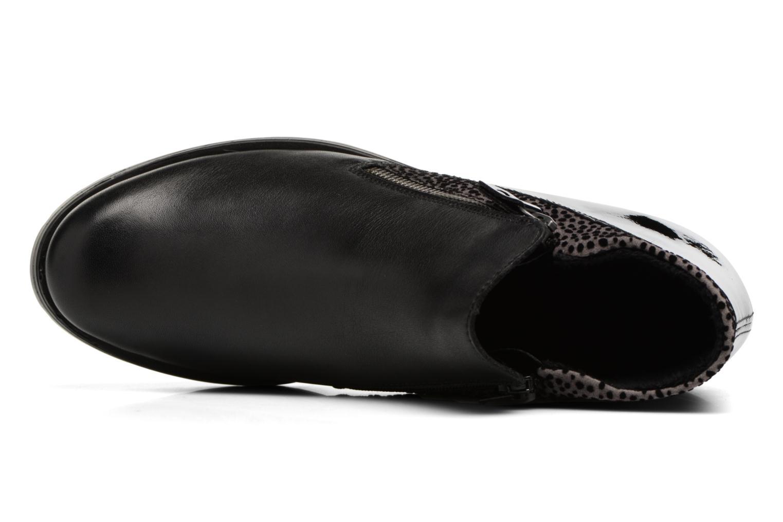 Botines  Remonte Pauly R1989 Negro vista lateral izquierda