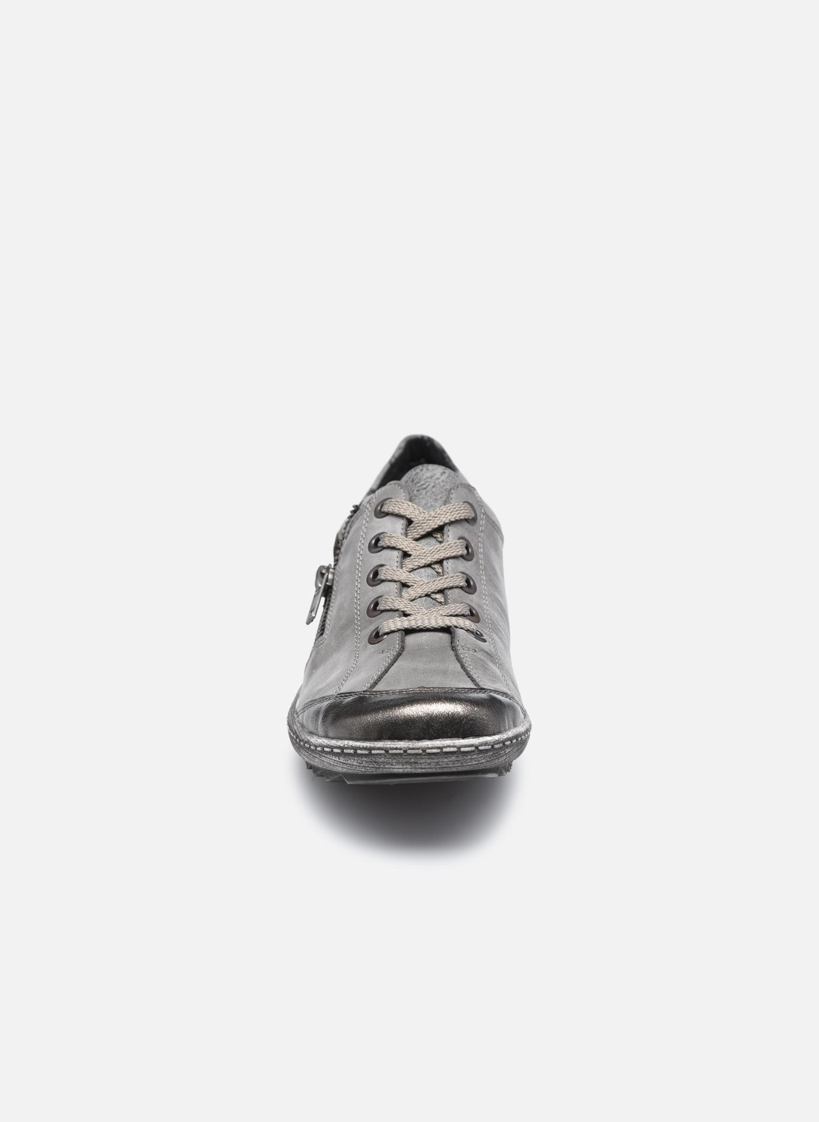 Baskets Remonte Loona R1401 Gris vue portées chaussures