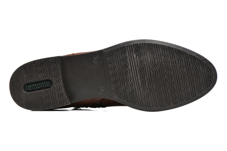 Bottines et boots Remonte Clélia D8573 Marron vue haut