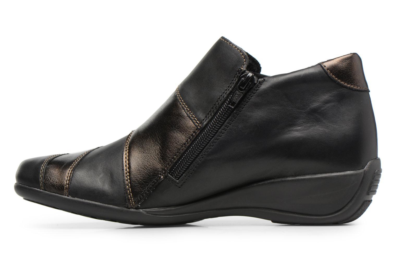 Bottines et boots Remonte Domi R9885 Noir vue face