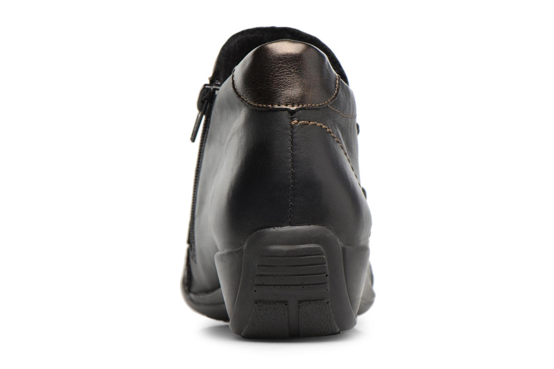 Bottines et boots Remonte Domi R9885 Noir vue droite