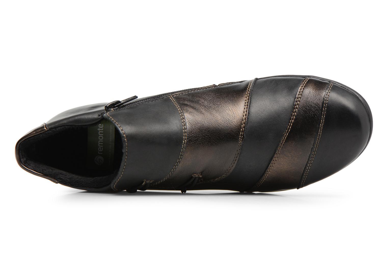 Bottines et boots Remonte Domi R9885 Noir vue gauche