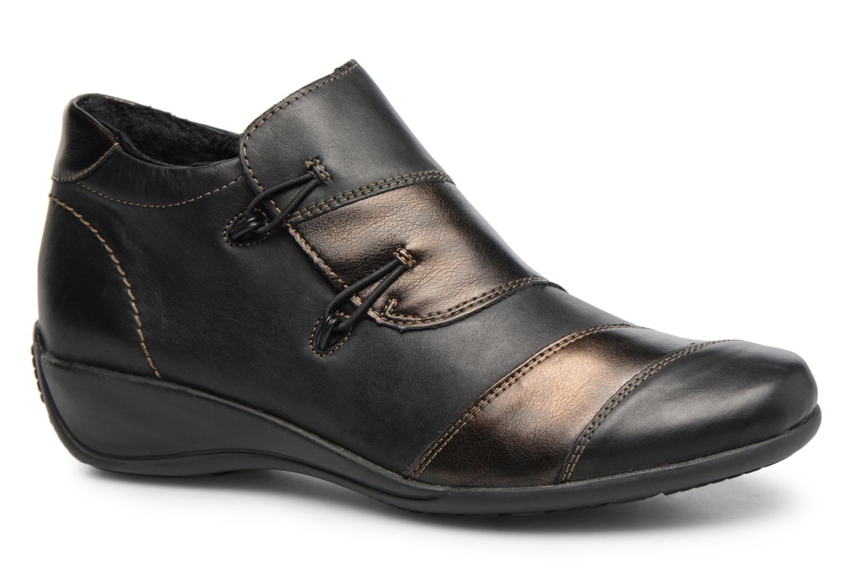 Bottines et boots Remonte Domi R9885 Noir vue détail/paire
