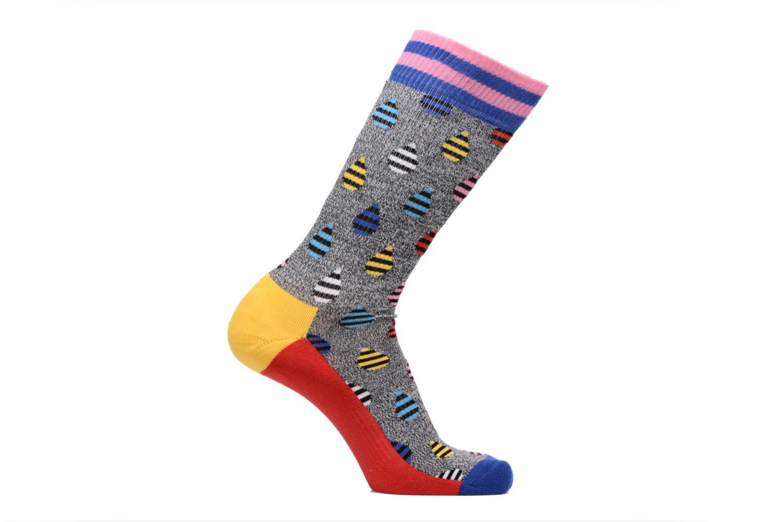 Medias y Calcetines Happy Socks Athletic Drop Chaussettes Hautes Gris vista de detalle / par