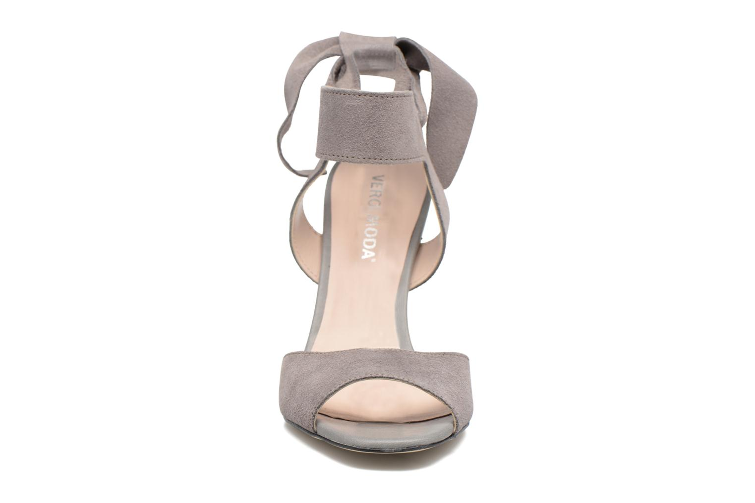 Malene Leather Sandal High-Rise