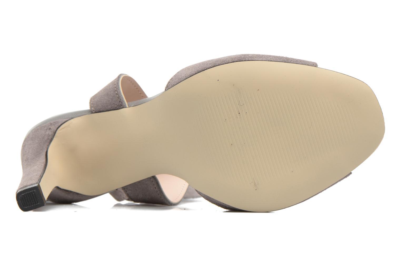 Zapatos promocionales Vero Moda Malene Leather Sandal (Gris) - Sandalias   Gran descuento