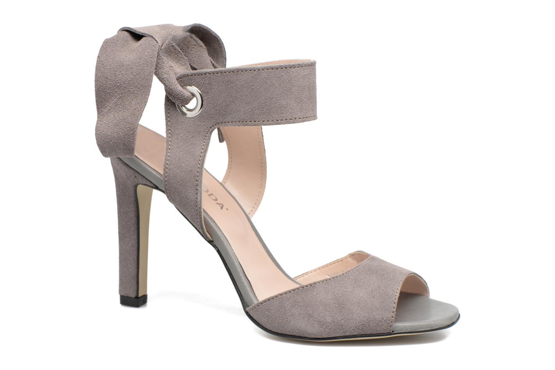 Malene Leather Sandal High-Rise