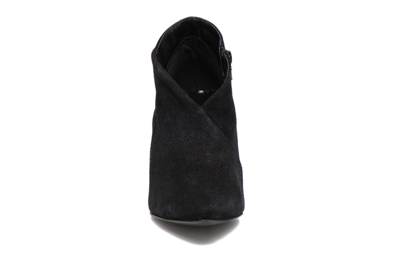 Bottines et boots Vero Moda Manon Leather Boot Noir vue portées chaussures