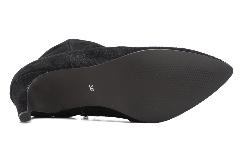Bottines et boots Vero Moda Manon Leather Boot Noir vue haut
