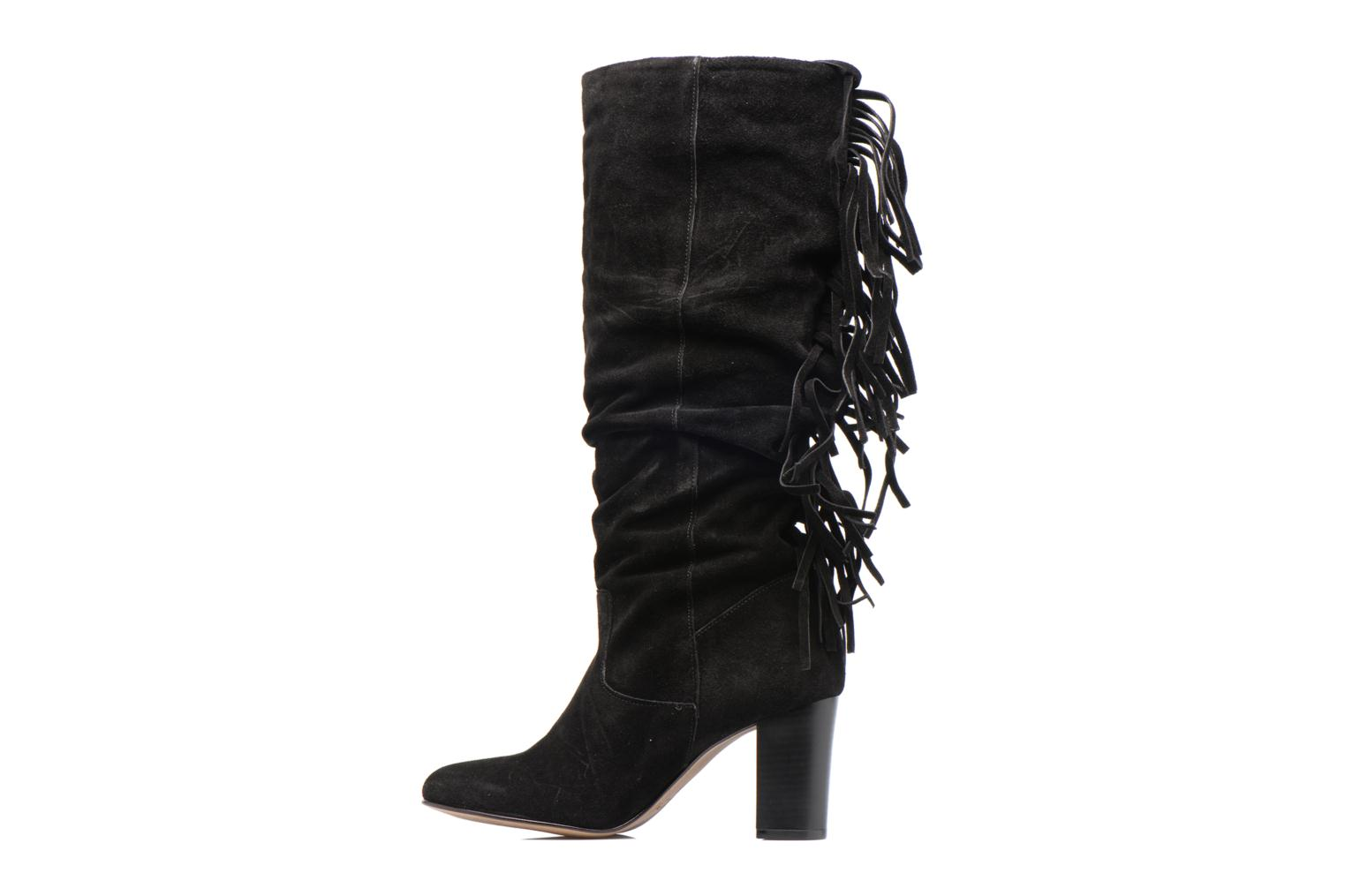 Vmmia Leather High Boot Black