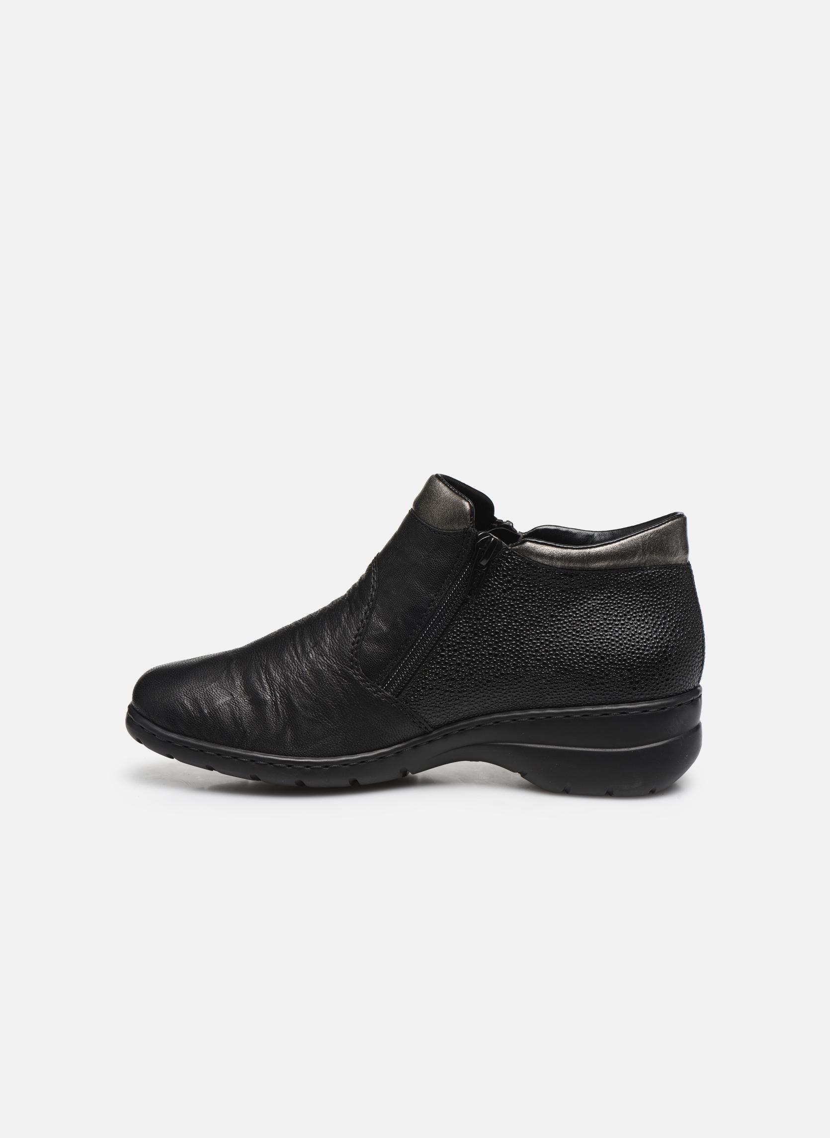 Bottines et boots Rieker Maria L4363 Noir vue face