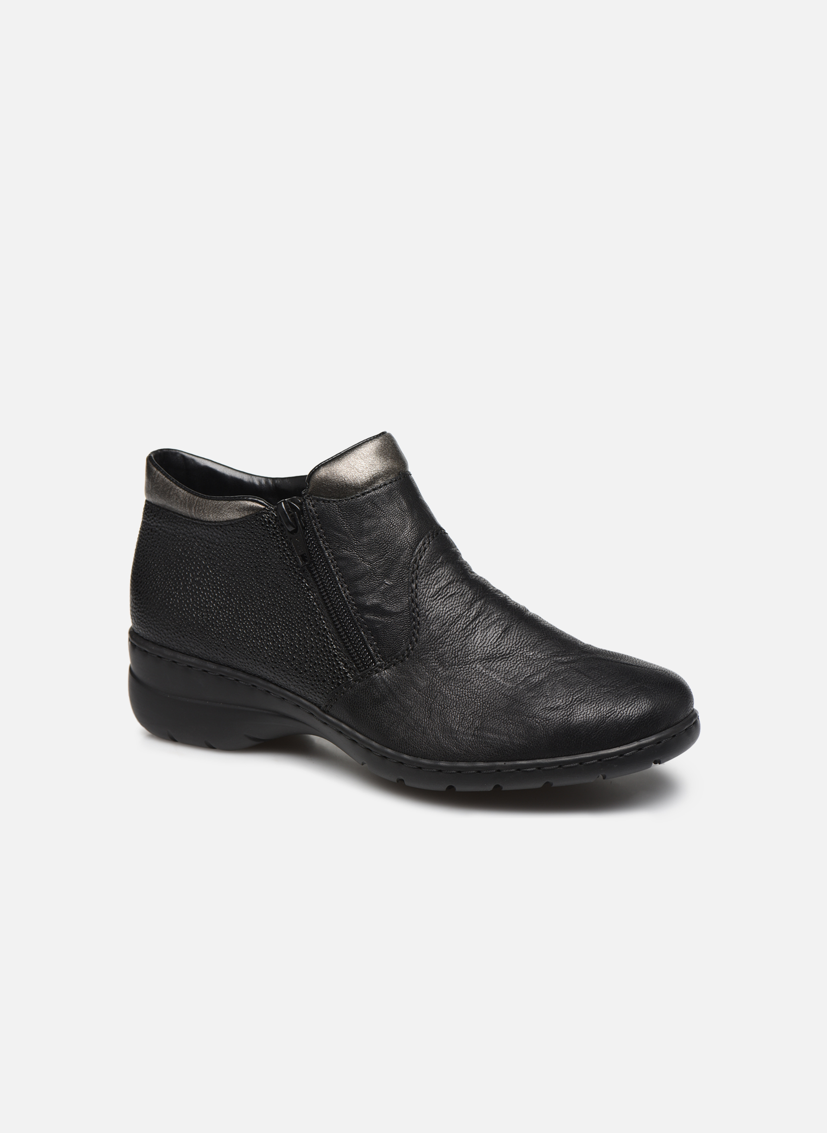 Bottines et boots Rieker Maria L4363 Noir vue détail/paire