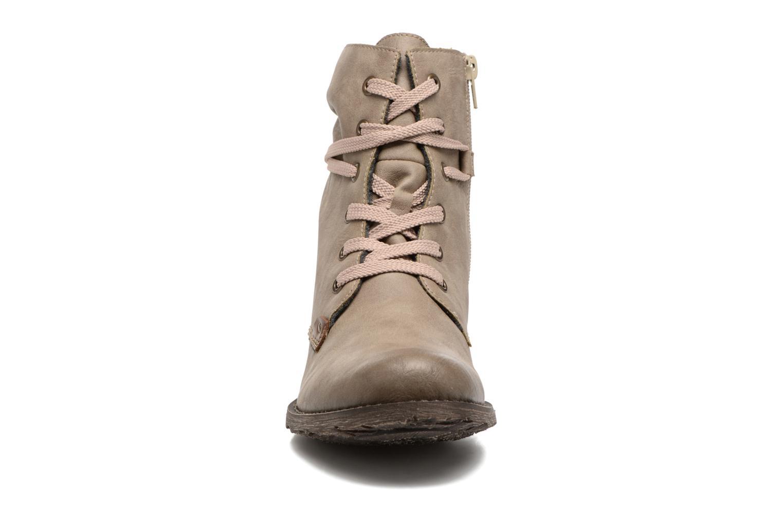 Ankelstøvler Rieker Barbara 70829 Beige se skoene på