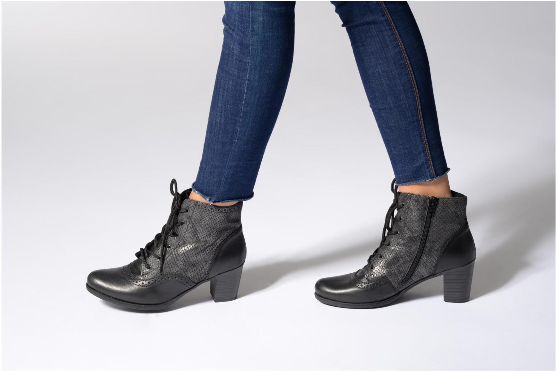Bottines et boots Rieker Maggy Y8930 Noir vue bas / vue portée sac