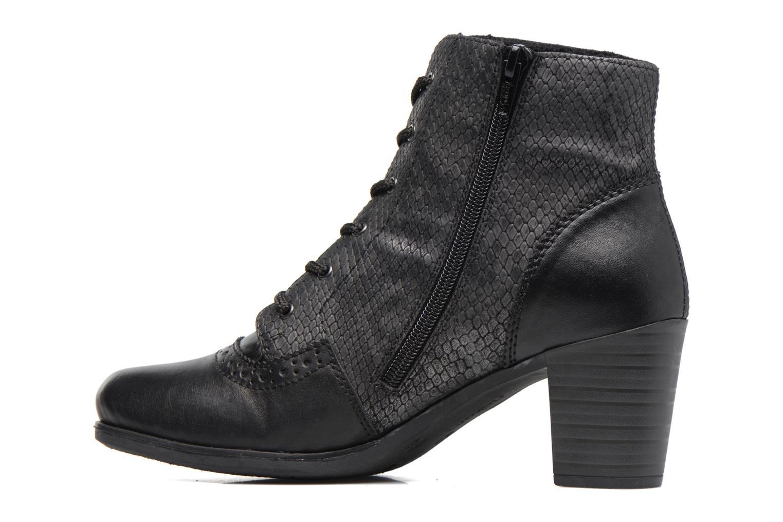 Bottines et boots Rieker Maggy Y8930 Noir vue face