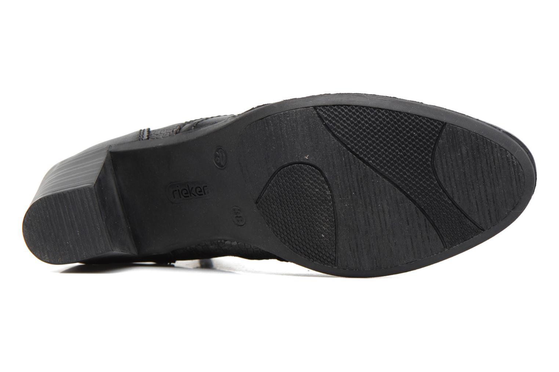 Bottines et boots Rieker Maggy Y8930 Noir vue haut