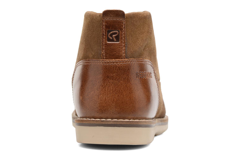 Chaussures à lacets Redskins Balmon Marron vue droite