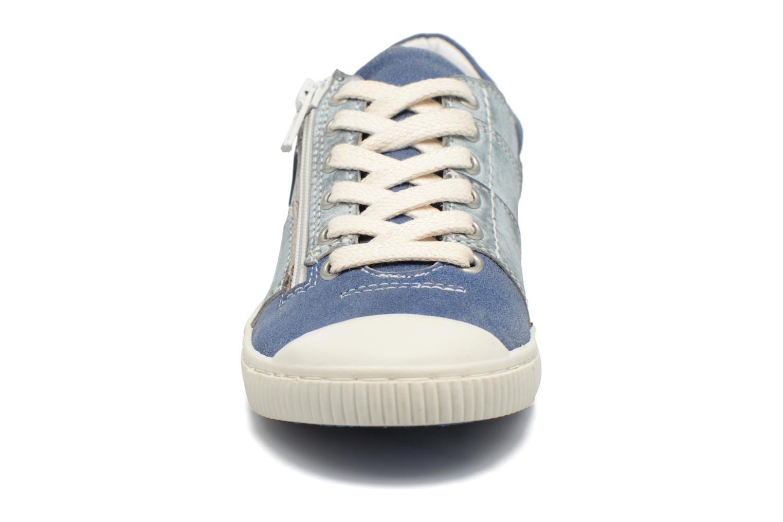 Baskets Pataugas Binnie Bleu vue portées chaussures
