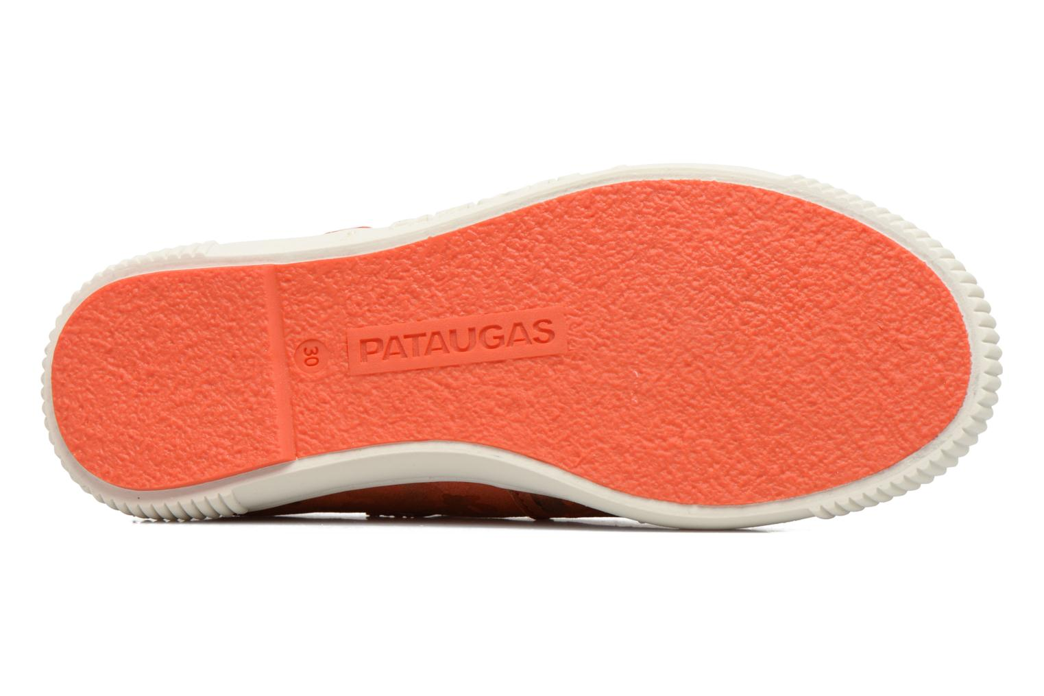 Ballerines Pataugas BOOST/BOWLING/I Rouge vue haut