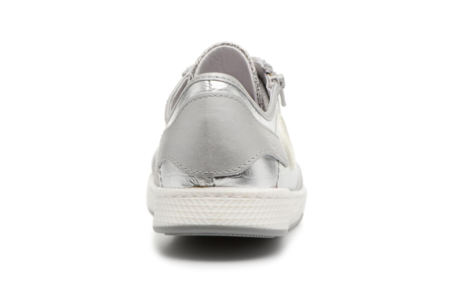 Trainers Pataugas JESTER M Silver view from the right