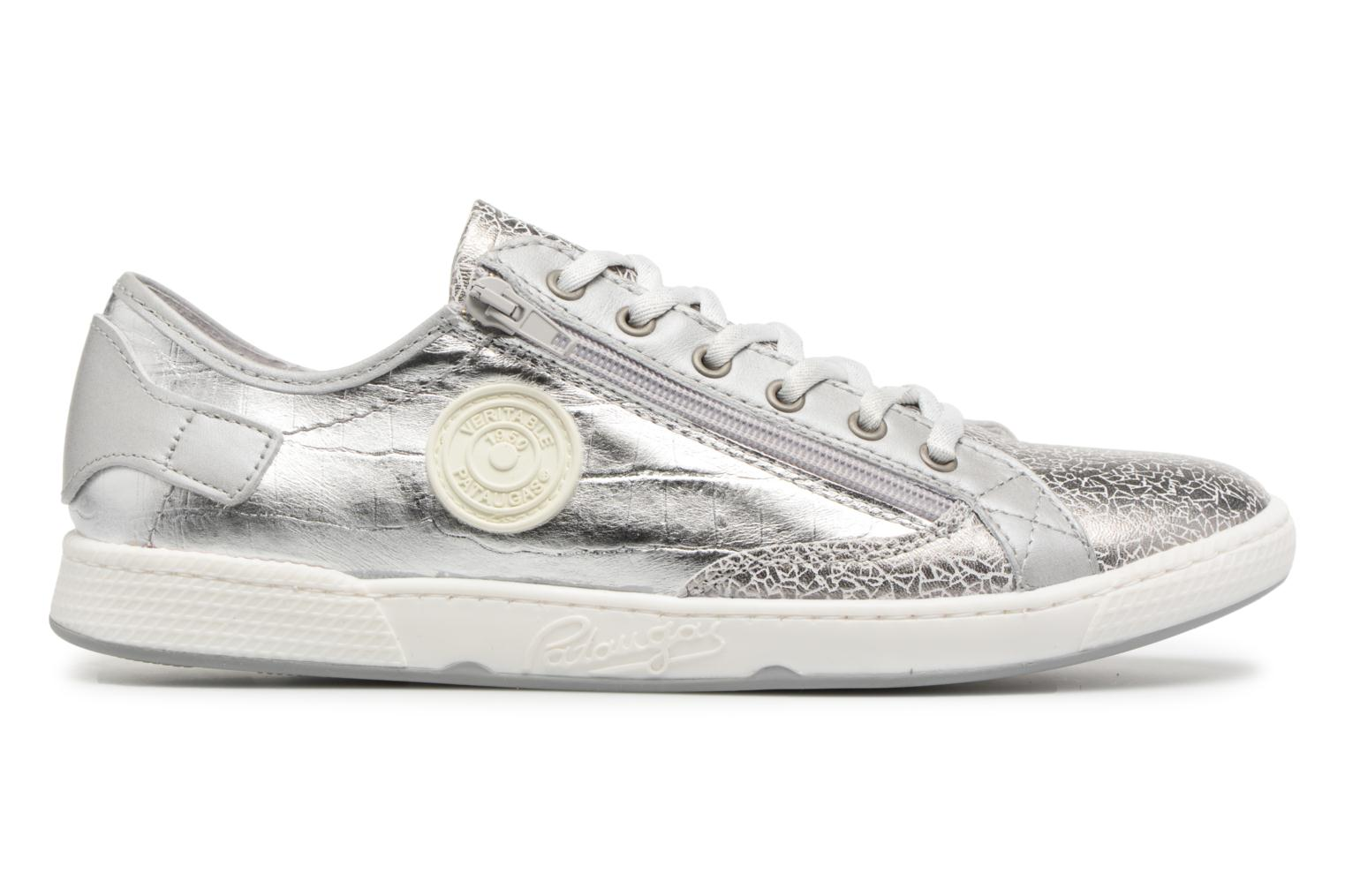 Trainers Pataugas JESTER M Silver back view
