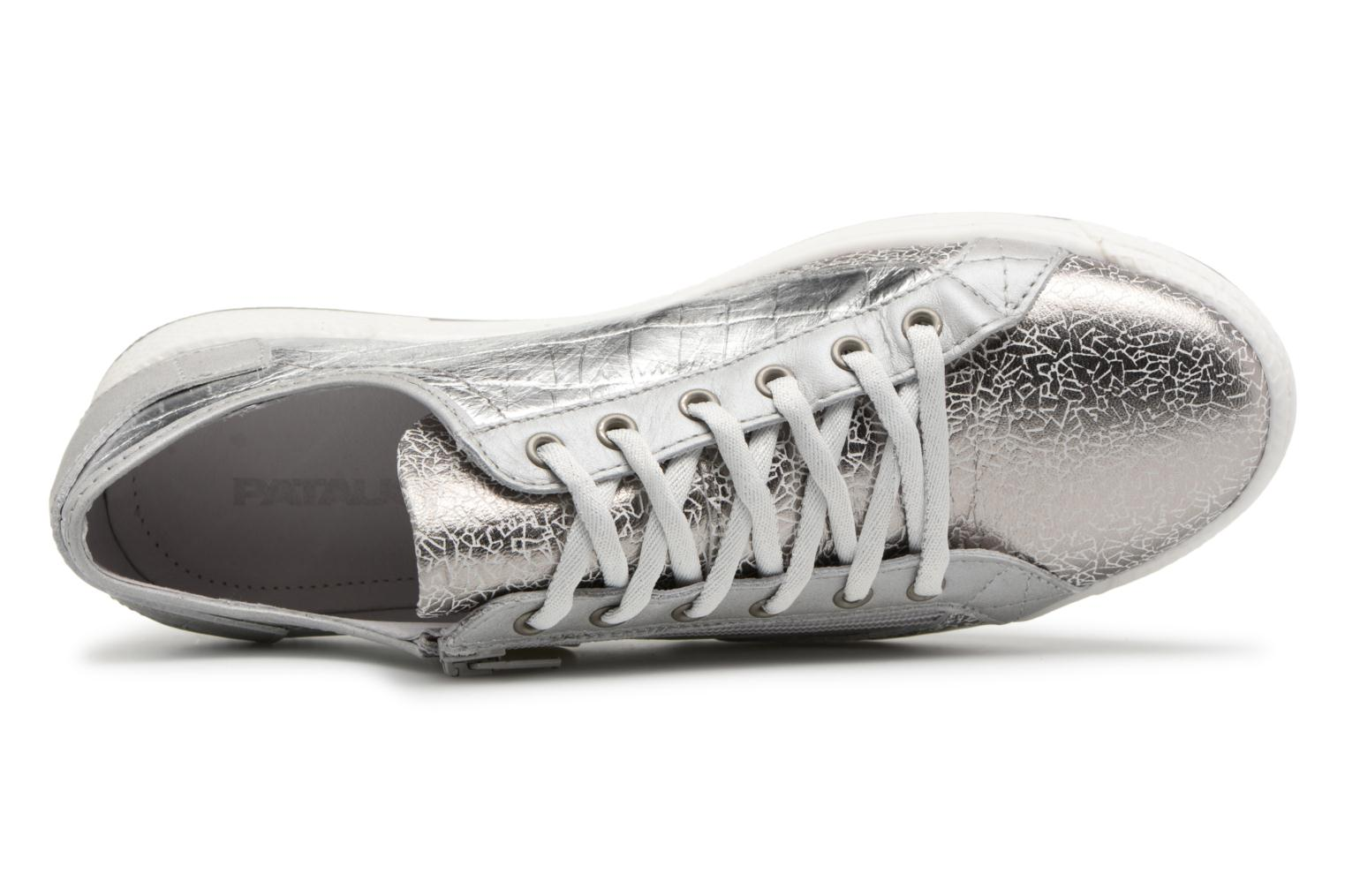 Sneakers Pataugas JESTER M Argento immagine sinistra