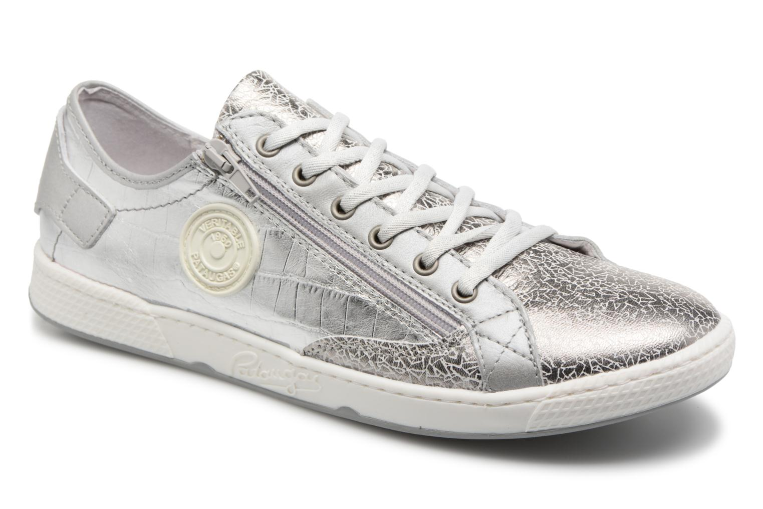Trainers Pataugas JESTER M Silver detailed view/ Pair view