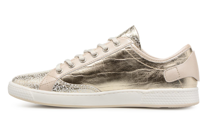 Sneakers Pataugas JESTER M Oro e bronzo immagine frontale