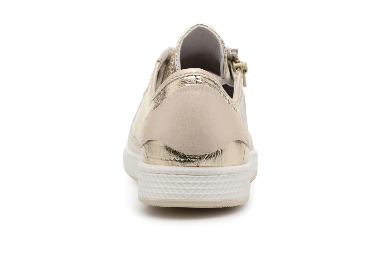 Sneakers Pataugas JESTER M Oro e bronzo immagine destra