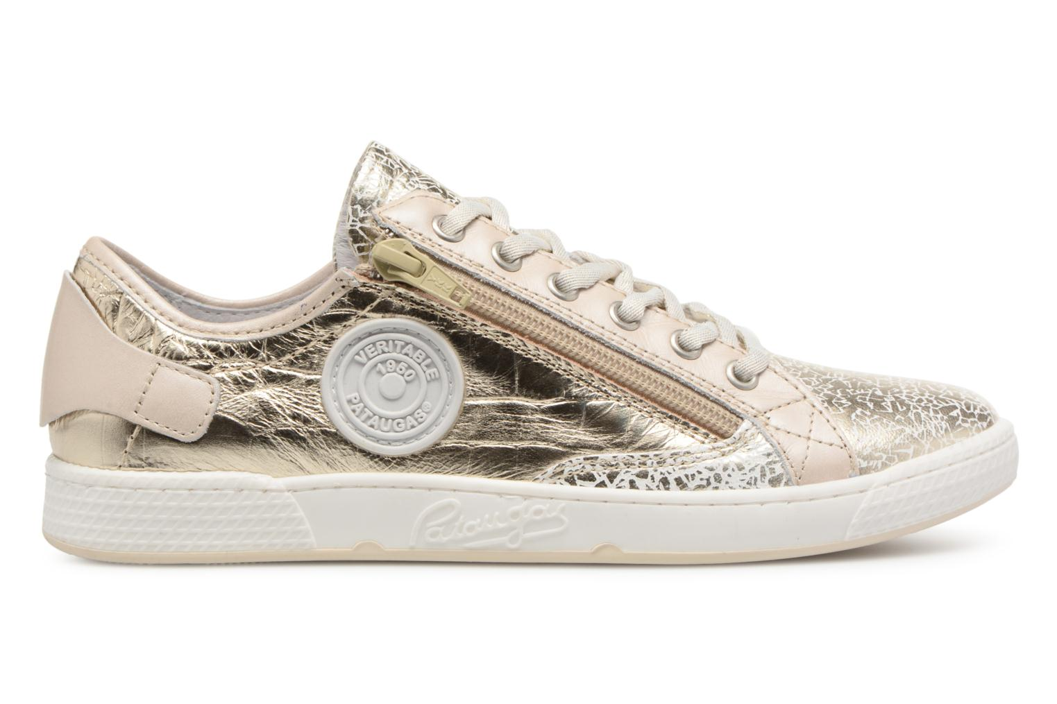 Sneakers Pataugas JESTER M Guld og bronze se bagfra
