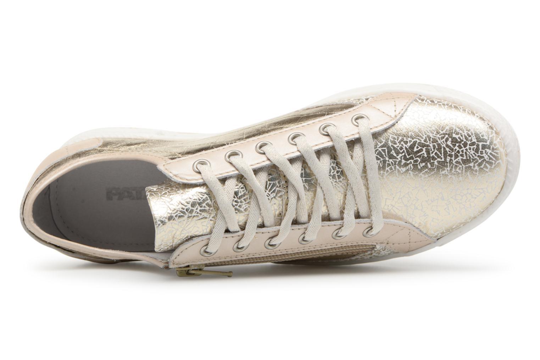 Sneakers Pataugas JESTER M Bronze och Guld bild från vänster sidan