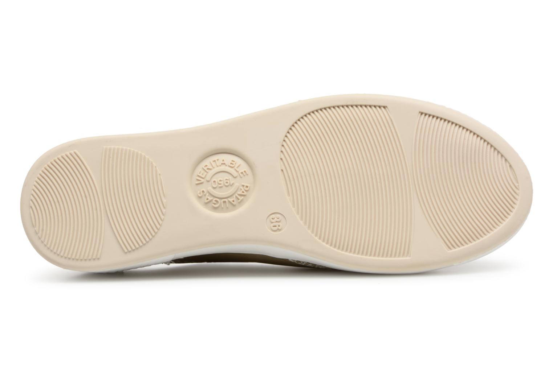 Sneakers Pataugas JESTER M Oro e bronzo immagine dall'alto