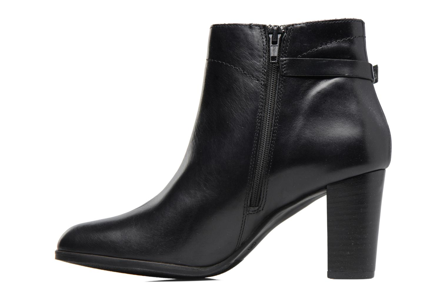 Ankle boots Georgia Rose Lylia Black front view