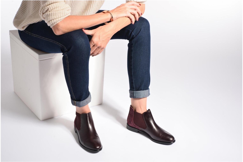 Boots en enkellaarsjes Georgia Rose Lavole Bordeaux onder