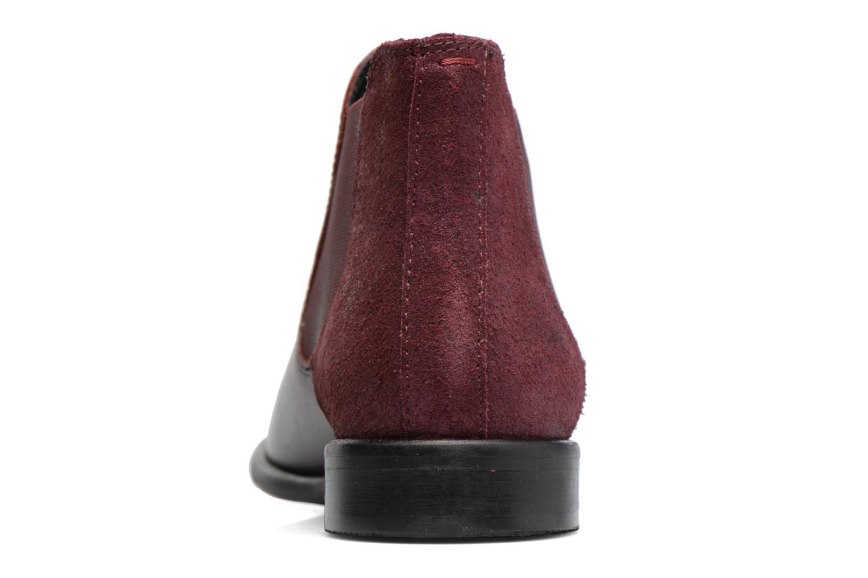 Boots en enkellaarsjes Georgia Rose Lavole Bordeaux rechts
