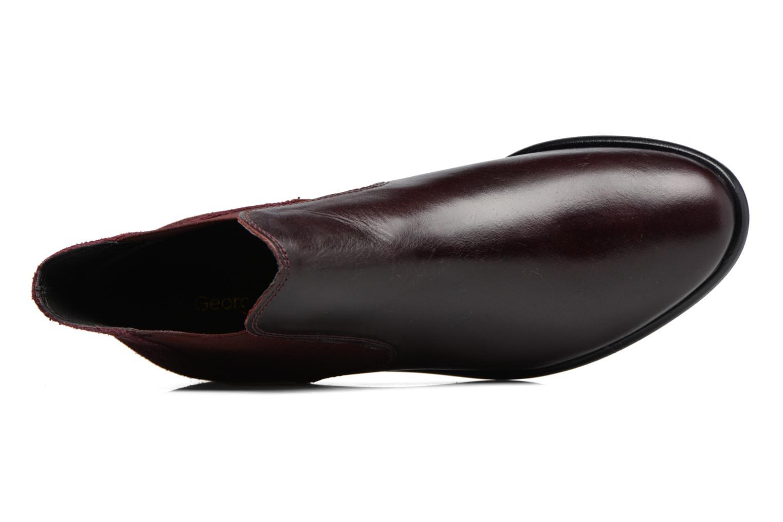 Boots en enkellaarsjes Georgia Rose Lavole Bordeaux links