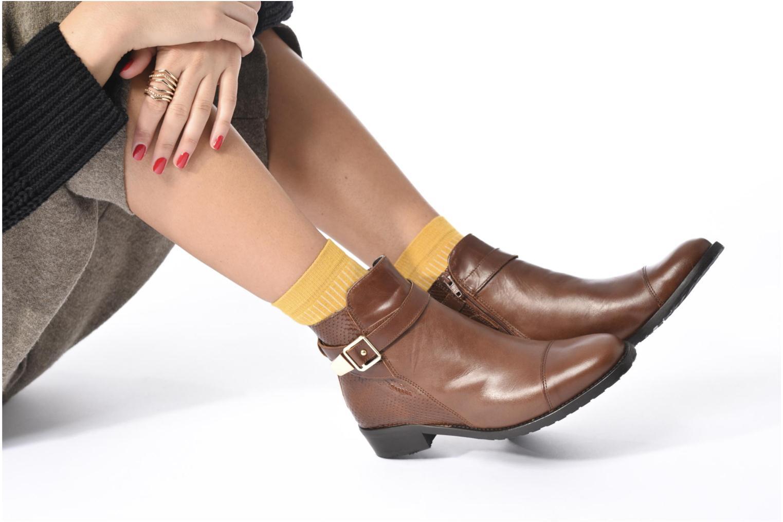 Boots en enkellaarsjes Georgia Rose Lavanda Bruin onder