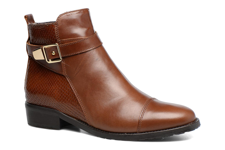 Boots en enkellaarsjes Georgia Rose Lavanda Bruin detail