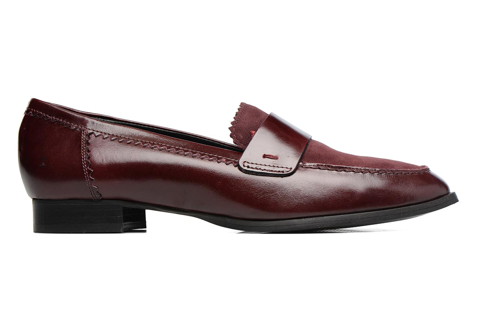 Loafers Georgia Rose Lesly Burgundy back view