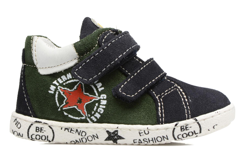 Sneakers Melania POLACCO VELCRI Blauw achterkant