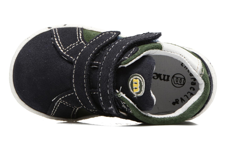 Sneakers Melania POLACCO VELCRI Blauw links